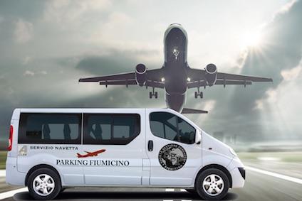 Parcheggio Fiumicino - Servizio Navetta