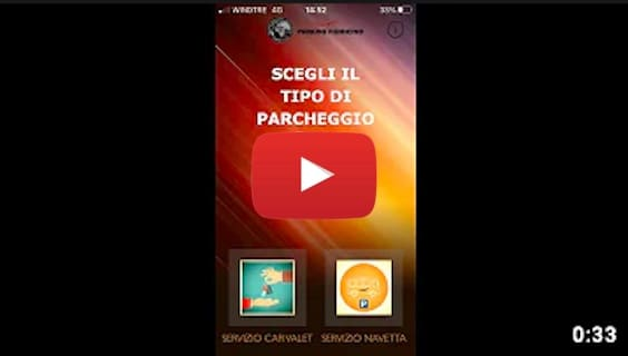 parking fiumicino app